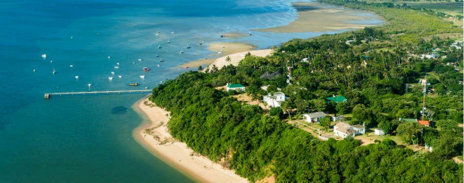 pestana inhaca island, Mozambique