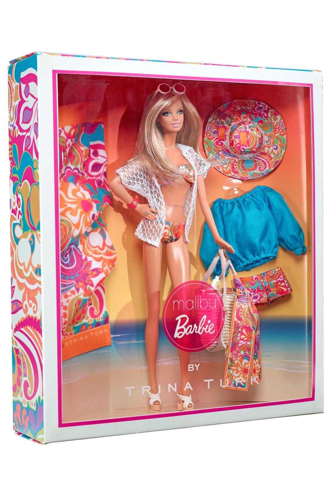 4fbf3899ee5c Introducing Malibu Barbie by Trina Turk!