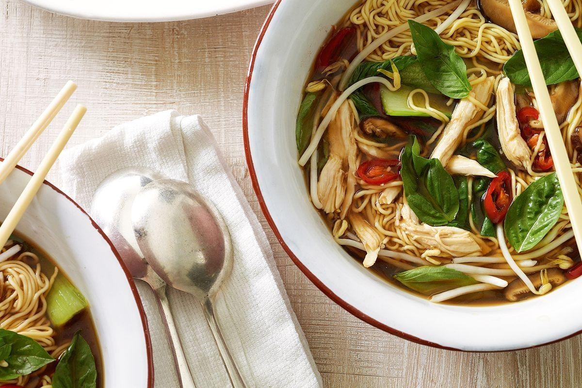 Chicken and egg noodle soup   Recipe   Egg noodle soup recipe. Soup recipes. Food recipes