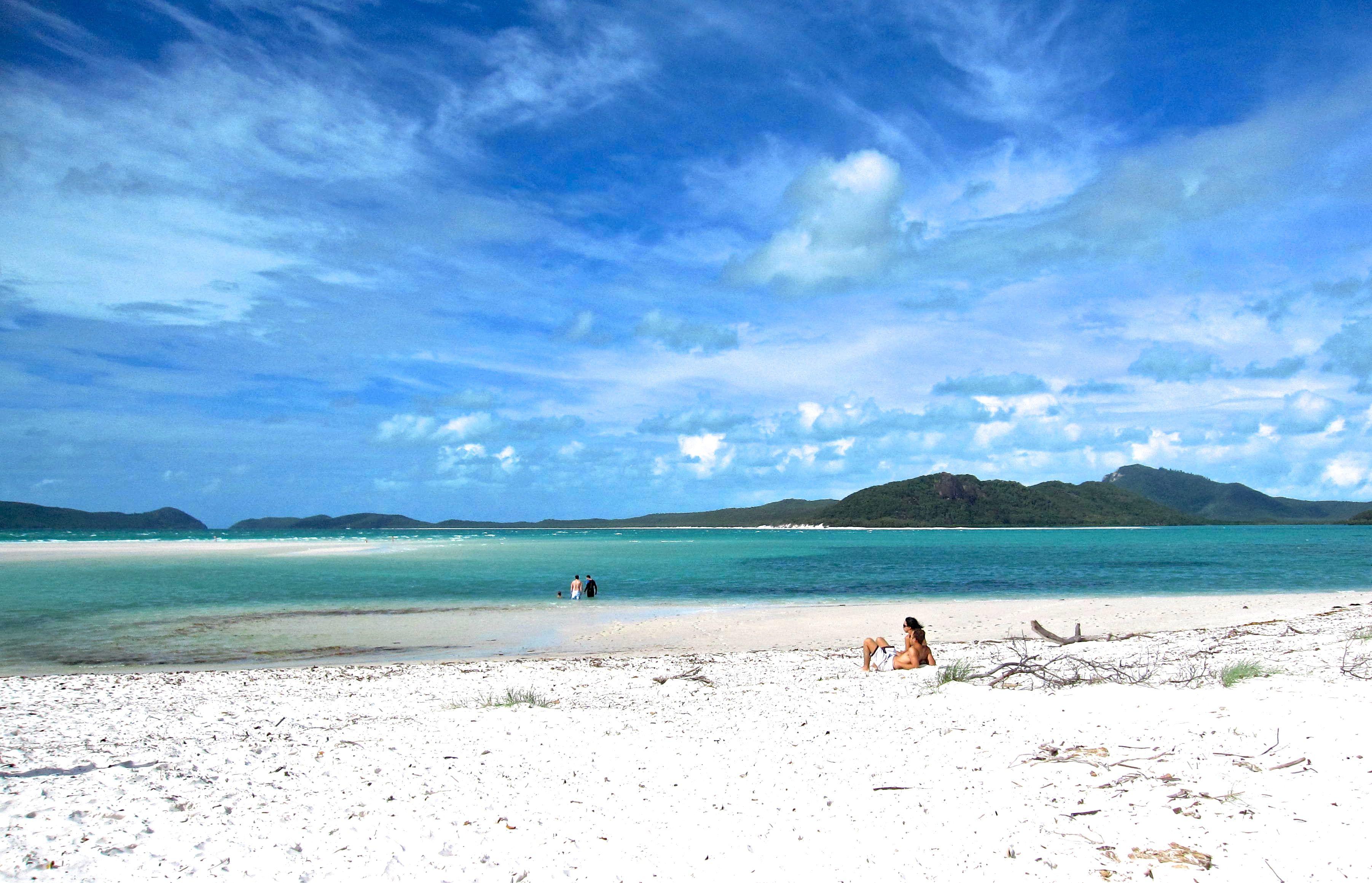 White heaven beach, Australie