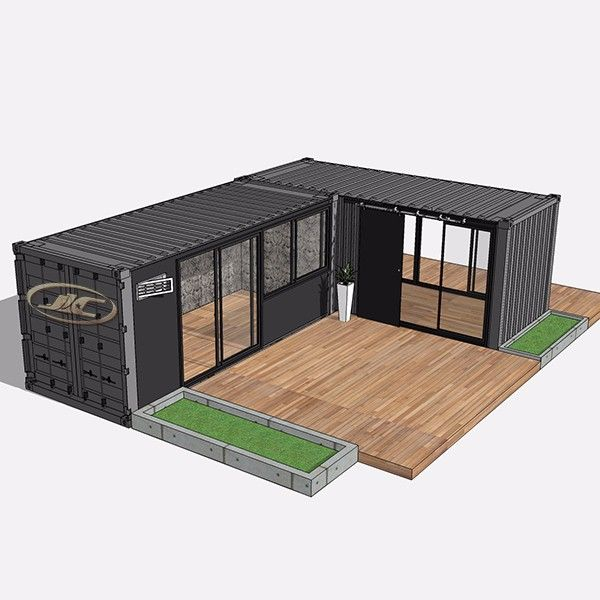 Source modular 40ft sea container house,customized ocean container house free designs on m.alibaba.com #containerhouse