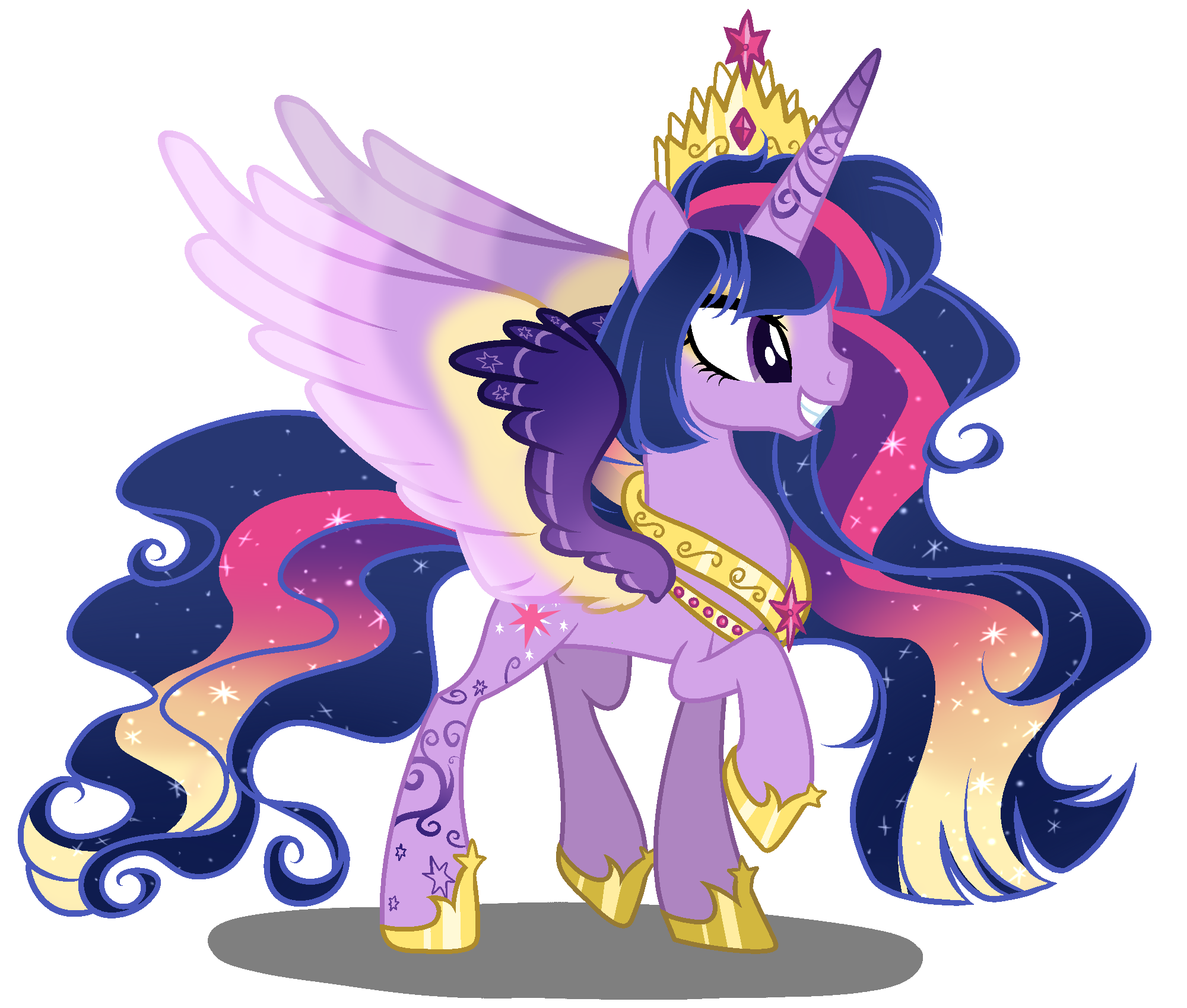 - MLD Princess Twilight Sparkle Next Gen By GihhBloonde On