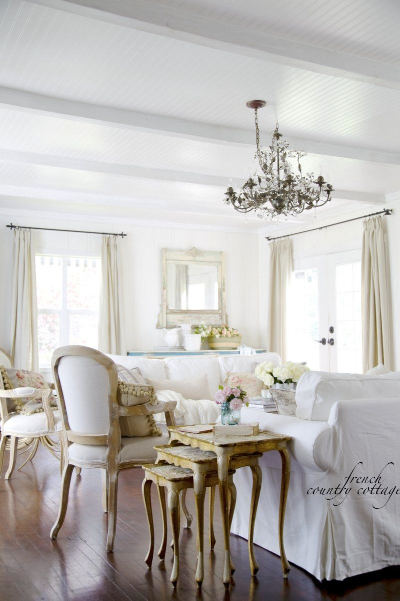 Linen & French Blue Chair | French blue, Linens and French style