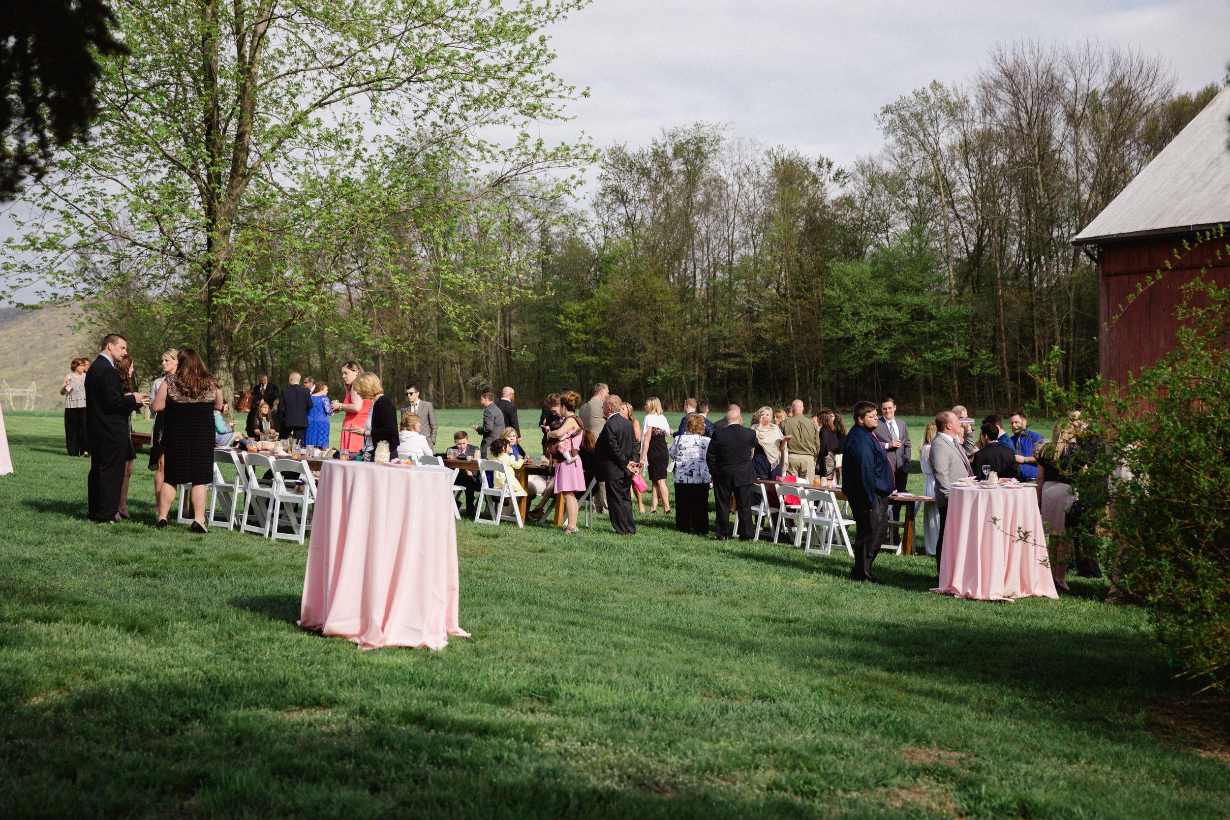 Bloomsburg Pa. Wedding The Barn at Hidden Acres. Rustic