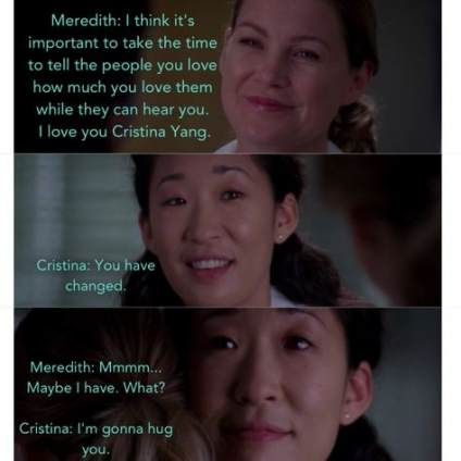 55 ideas quotes greys anatomy meredith my person for 2019 #quotes