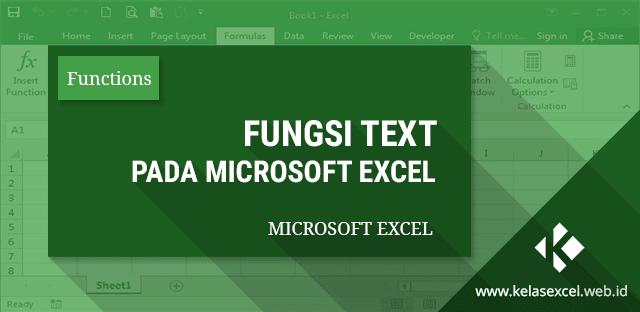 Fungsi Rumus Text Excel Merubah Angka Tanggal Dan Waktu Menjadi Format Teks Microsoft Excel Microsoft Angka Acak