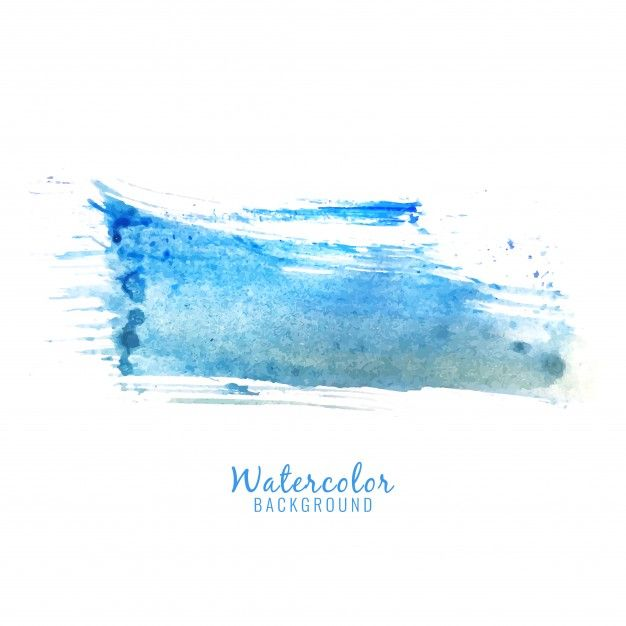 Download Abstract Blue Watercolor Splash Design Background For