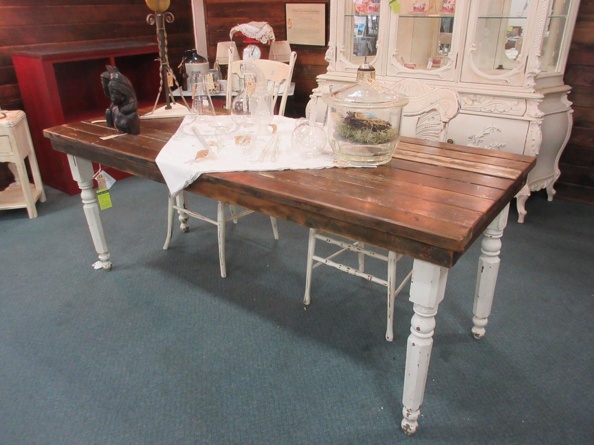 Harvest Table Made Out Of Old Doors From Vendor 454 In Booth 140 Priced