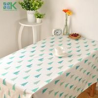 2016 Summer new Korean literary fresh small pine table cloth cotton cloth cover coffee table cloth soft home factory outlets , f