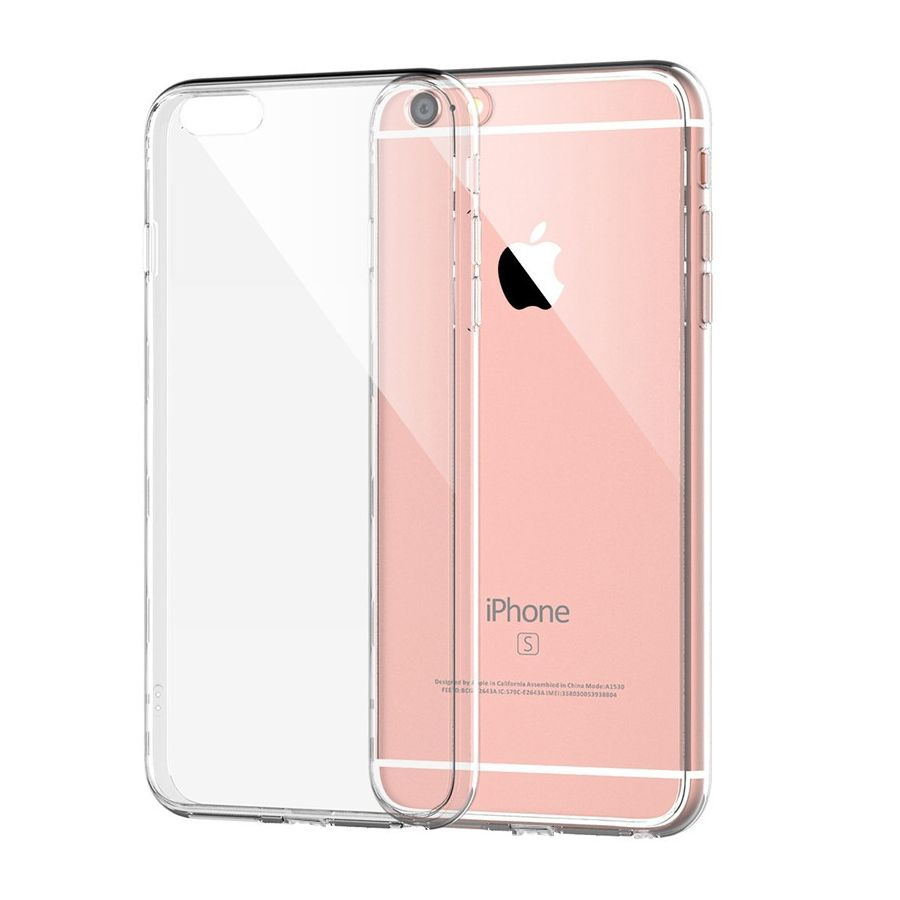 Iqd For Apple Iphone 6 6s Case Slim Crystal Clear Tpu Silicone Protective Sleeve For Iphone 6 Plus 6s Plus Co Iphone 6 Cases Clear Silicone Phone Case Iphone