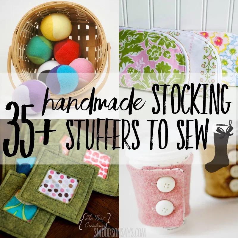 Sewing for Christmas: Handmade stocking stuffers to make