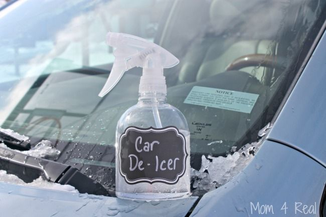 2 Ingredient Homemade Car De Icer Spray Removes Ice In Seconds Mom 4 Real Rubbing Alcohol Uses Cleaning Diy Cleaning Products