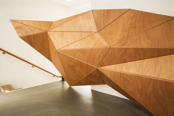 IUTER Store, Milano by Wood-Skin™, via Behance