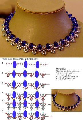 бисер | Perlenschmuck, Ketten und Perlen