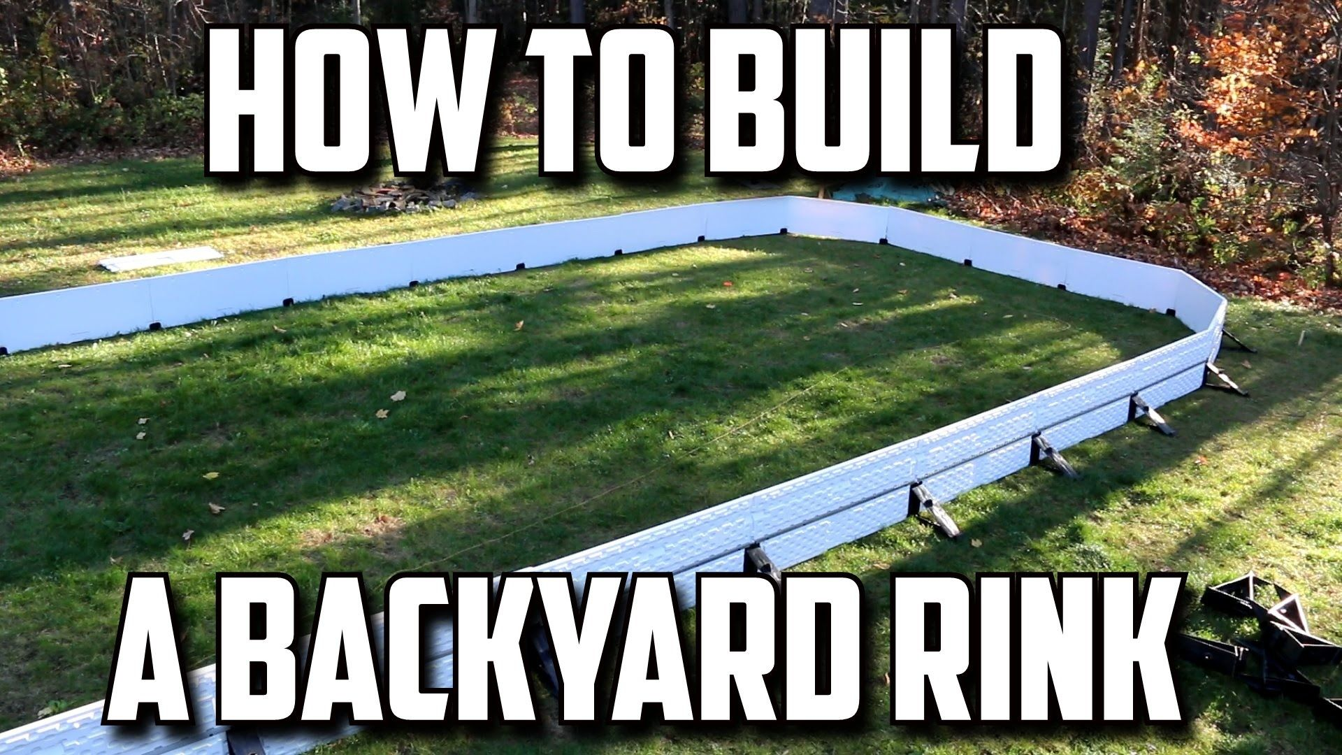 How To Build A Backyard Hockey Rink Backyard Rink Backyard Hockey Rink Backyard Ice Rink Backyard diy hockey rinks