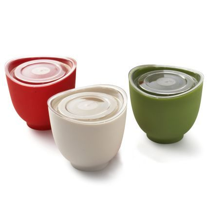 Pinch to pour - iSi® Silicone Bowls, Set of 3 | Sur La Table | food ...