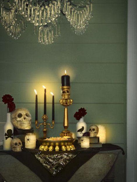 Chic DIY Halloween Decorations that Prove Halloween is for Adults - elegant halloween decorations