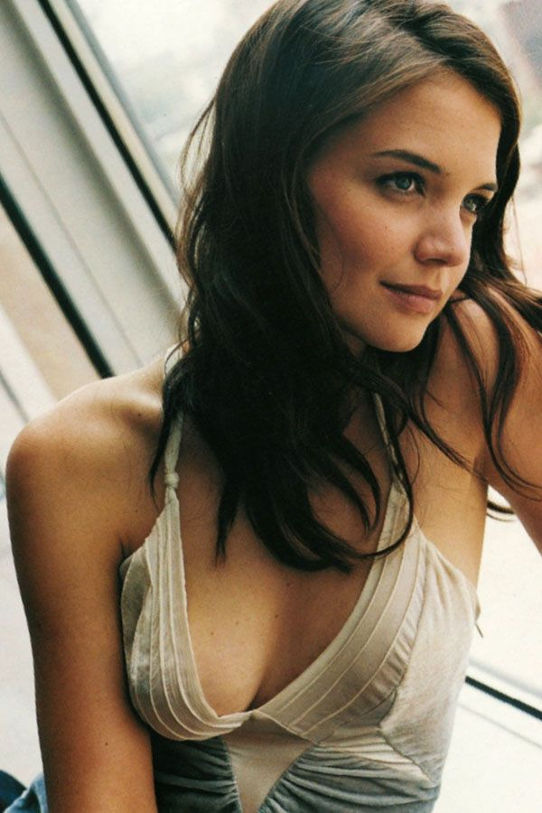 Opinion you Katie holmes tits the