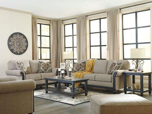 Blackwood Taupe Sofa And Loveseat