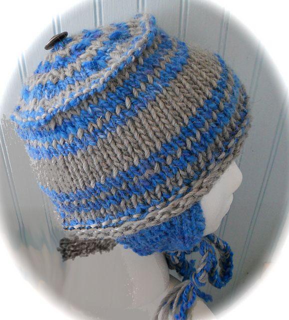 Ear Flap Hat pattern by Susan Sarabasha | Ear flap hats ...