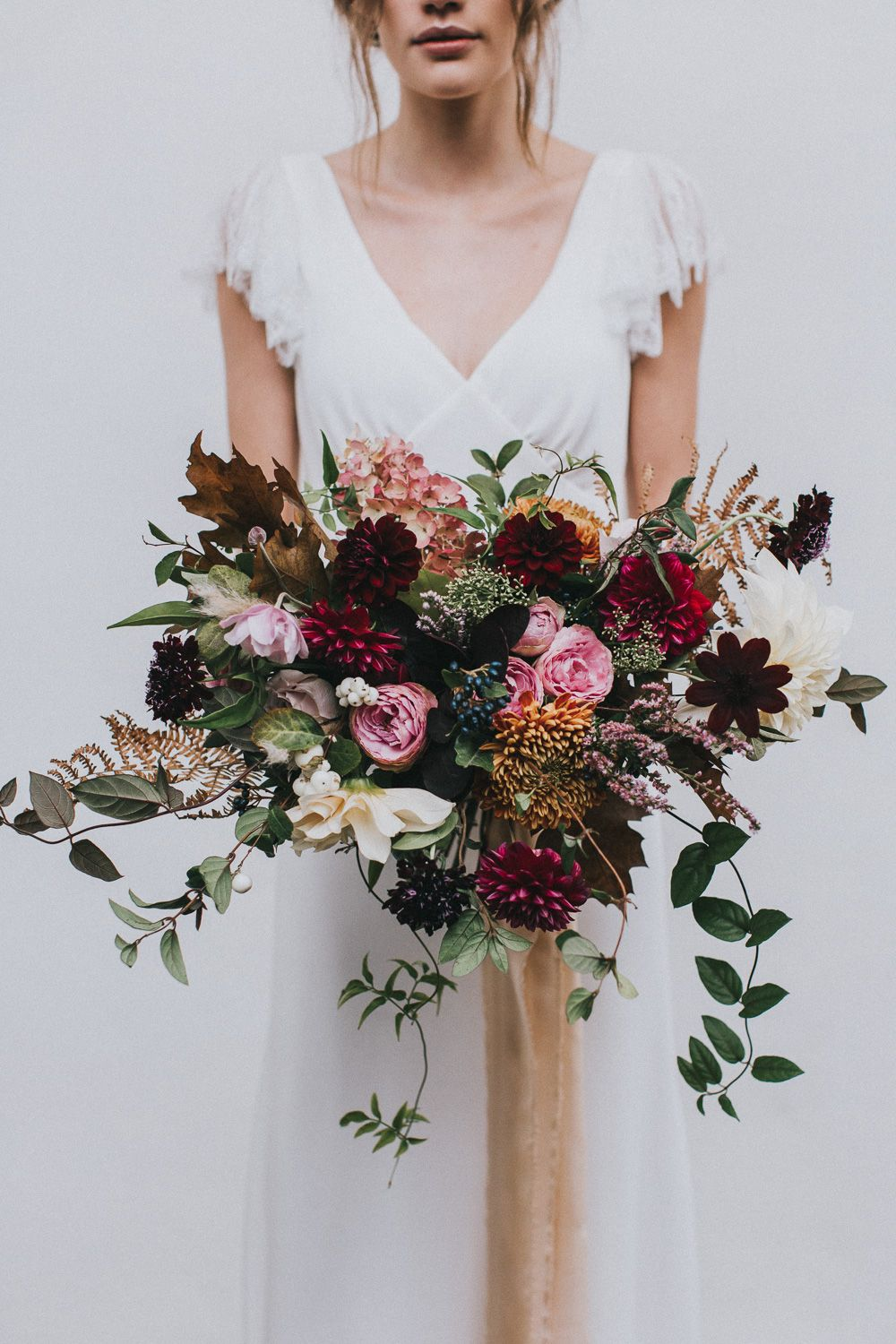stylish autumnal wedding shoot from top uk wedding suppliers