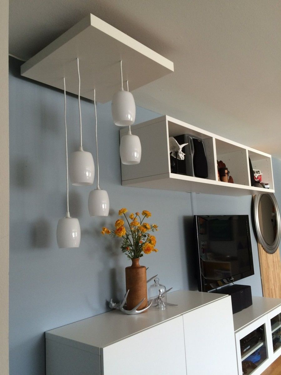 ikea lighting pendant. Ikea Lighting Pendant. Hack Of A Tiered Pendant Using The Lack Side Table