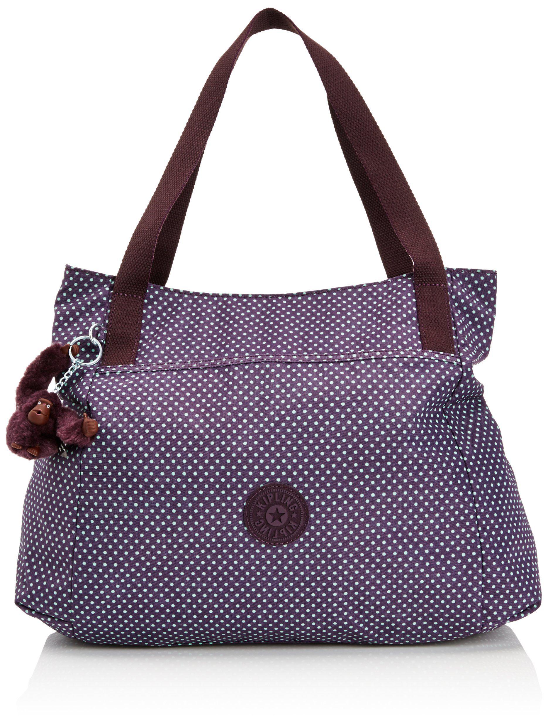 Kipling Womens Pravia Shoulder Bag K16618900 Black Co Uk Shoes Bags