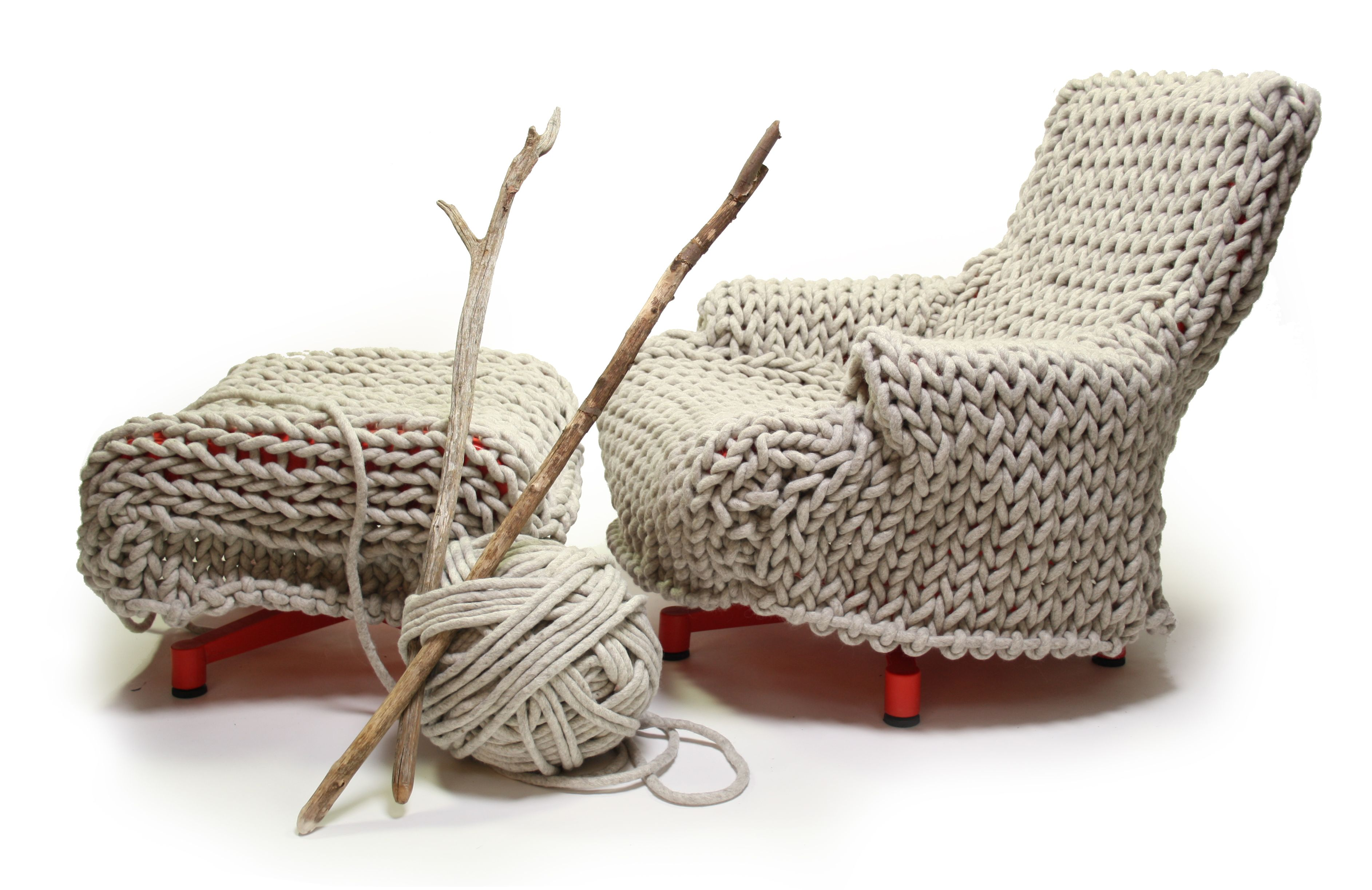 Modern Knits for Interior   Sillones   Pinterest   Sillones