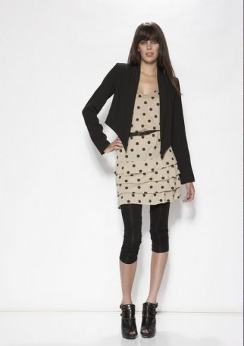 Andrea Moore Spring/Summer 2012 Lookbook. Point down jacket