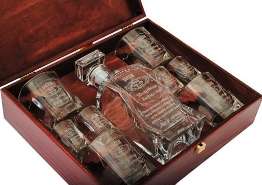 Zestaw Karafka Prezent Na 18 30 40 50 Urodziny 7209778972 Allegro Pl Liquor Cabinet Liquor