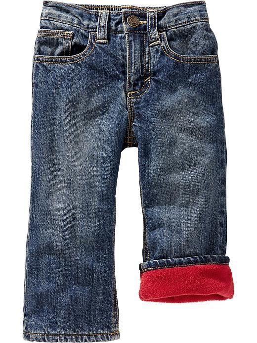 Old Navy | Fleece-Lined Jeans for Baby