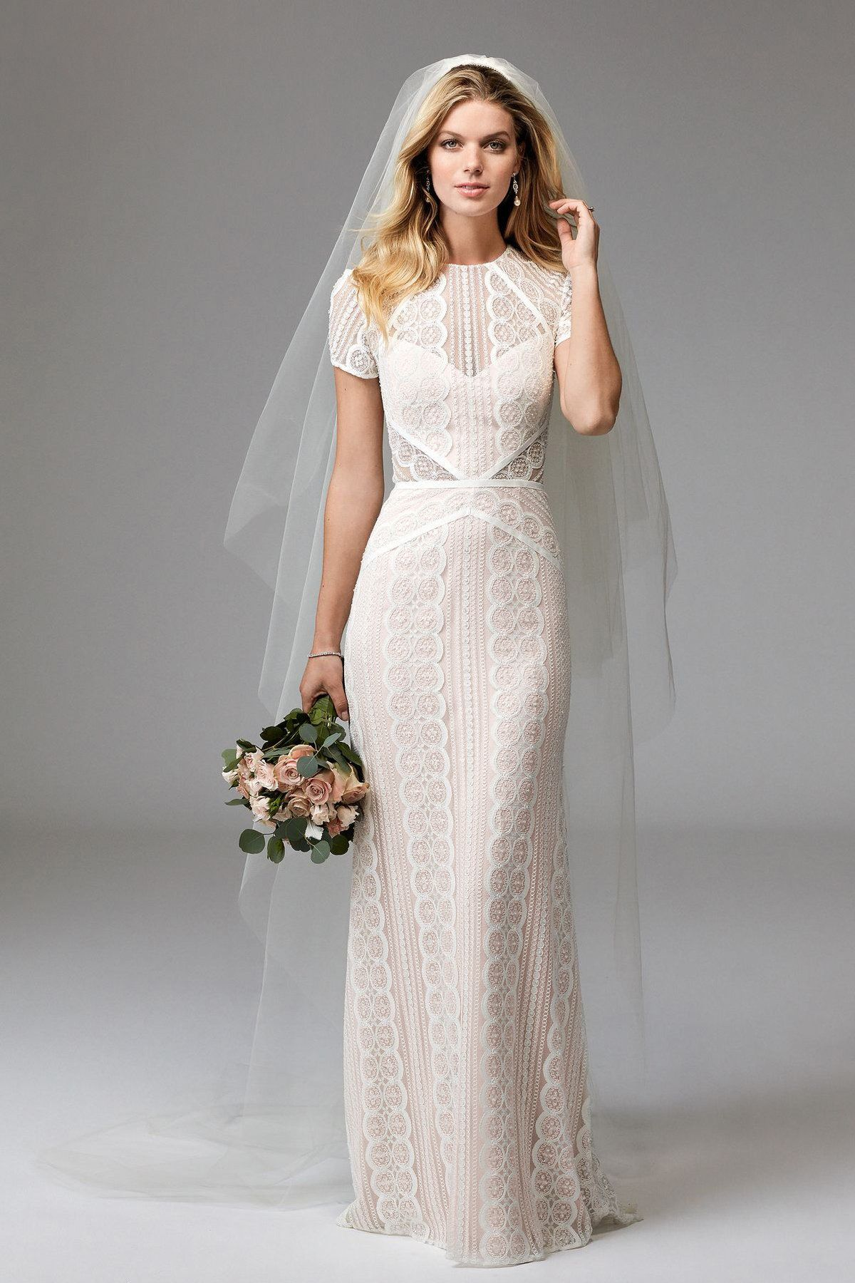 Lenora (Beaded) 17120B | Brides | Wtoo by Watters | Wedding dresses ...