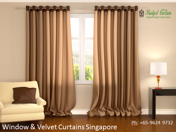 Timber Blinds Singapore Brown Curtains Curtains Warm Interior