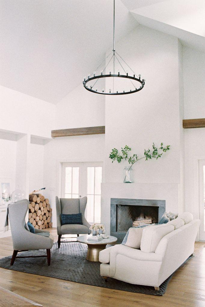 BECKI OWENS Dream Home An All American Modern Farmhouse Fireplace