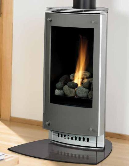 Heat N Glo Paloma Gas Stove Small Gas Fireplace Freestanding