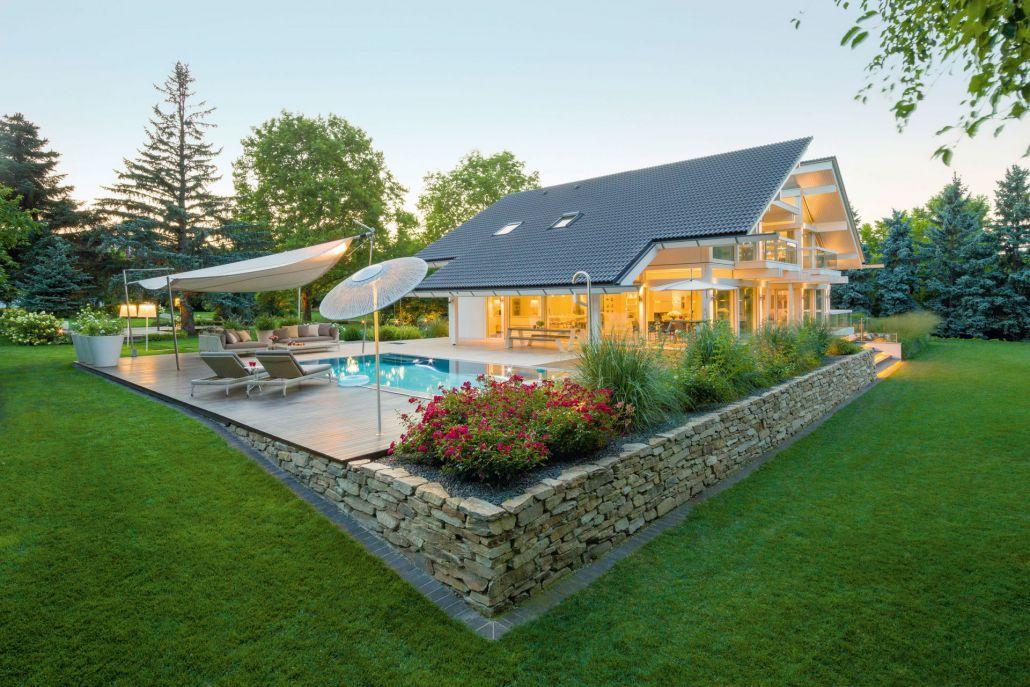 Luxury Homes By Huf Haus Energy Efficient Elegant Modern Designs Home Technology Bungalow Design Haus
