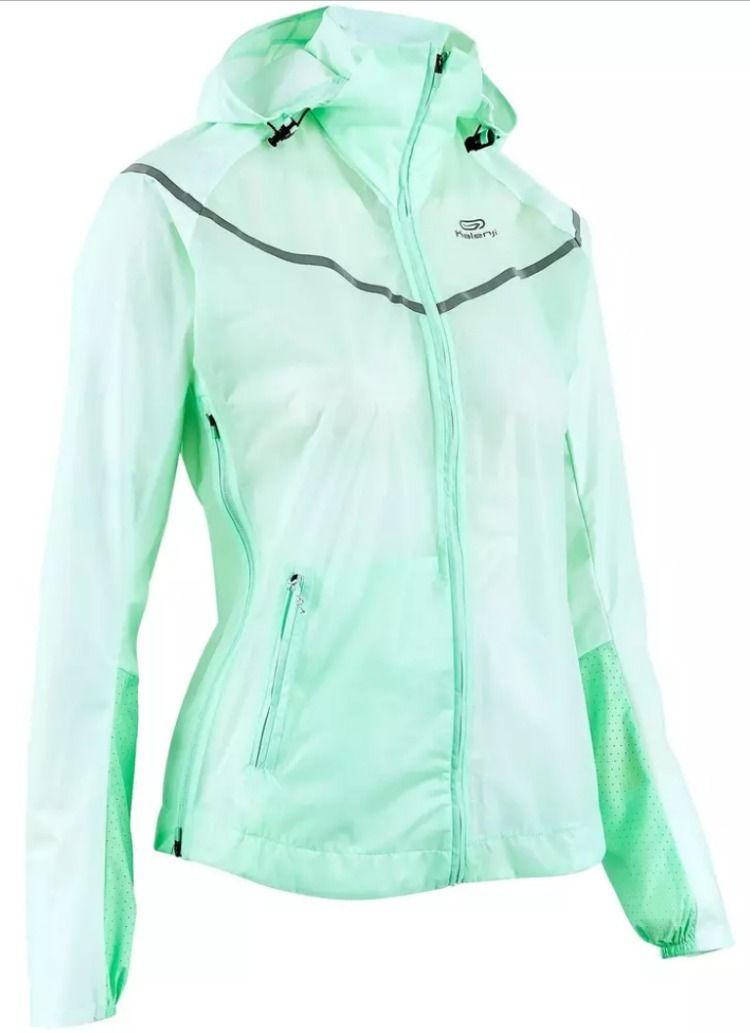 Laufjacke wasserdicht Kiprun Light Damen | Running women