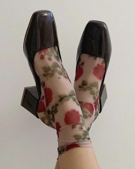 Rose socks