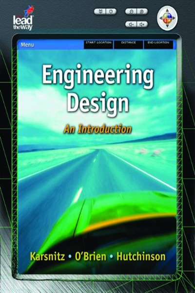 2008 Engineering Design An Introduction Texas Science By John