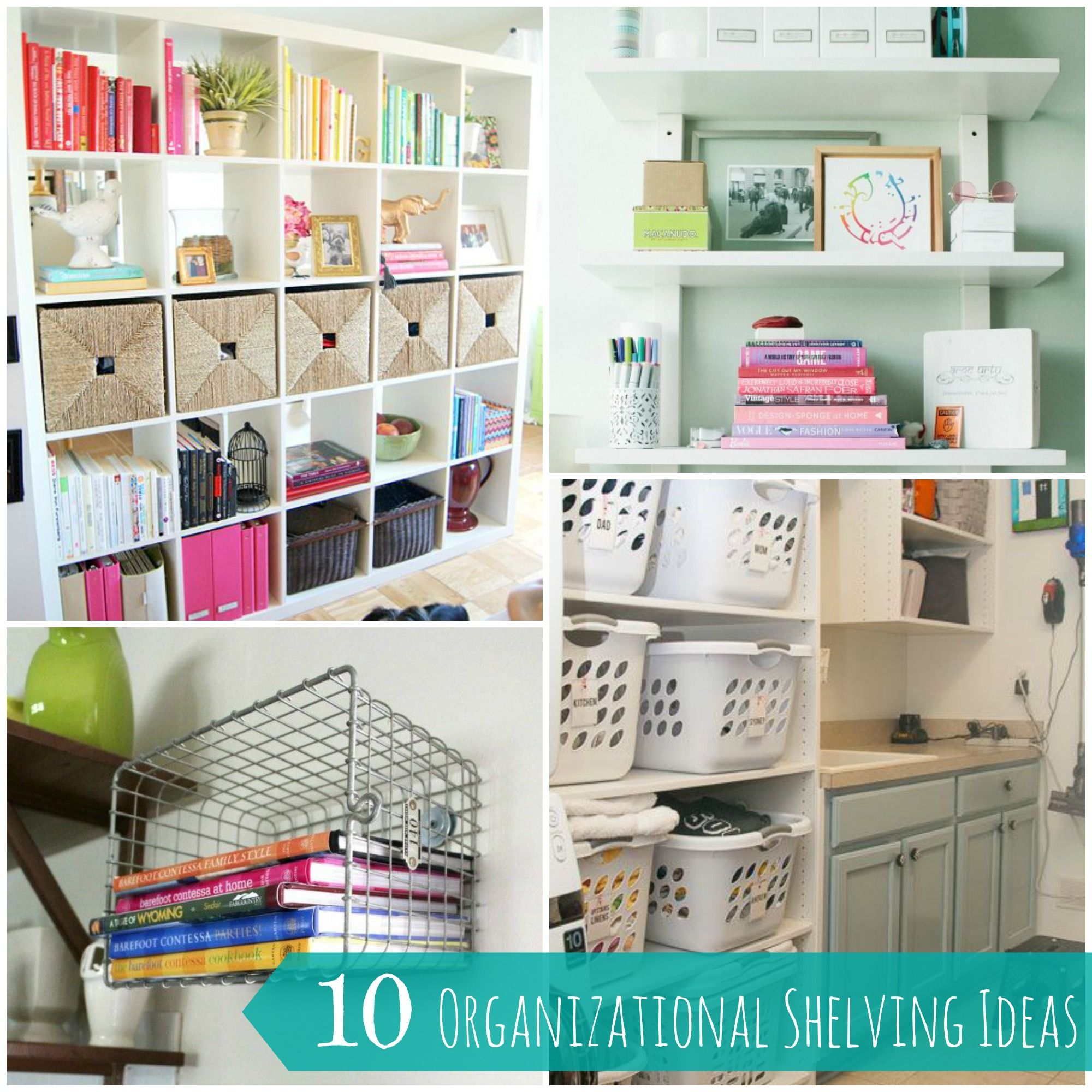 10 Easy and Creative Shelving Organization Ideas for your Home ...