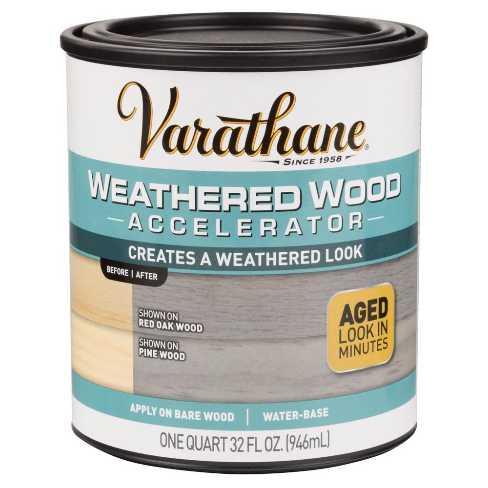 Varathane 1 Qt Weathered Wood Interior Accelerator 2