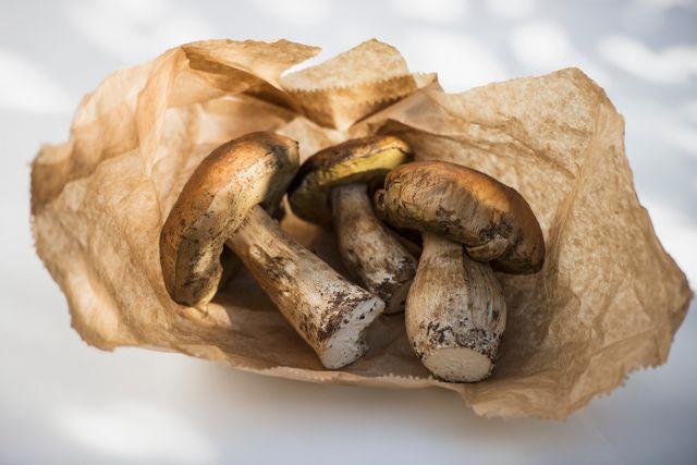 A fall recipe for Pasta with Prosciutto and Porcini Mushrooms