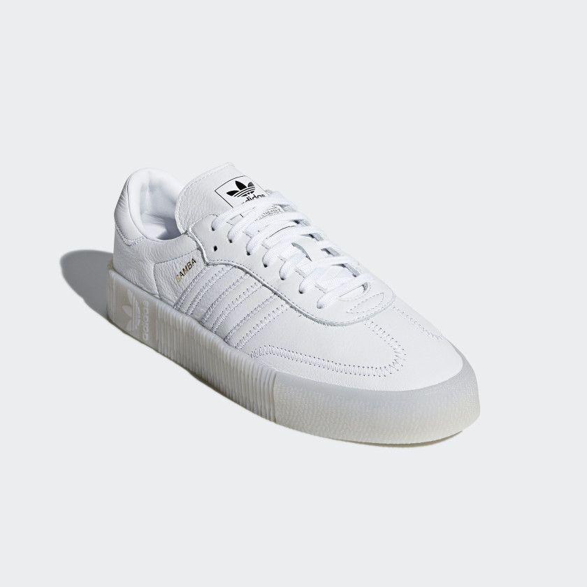 zapatos adidas samba blancos de mujer