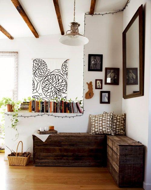 Sitzbank selber bauen Aufbewahrung Pinterest Sitzbank selber
