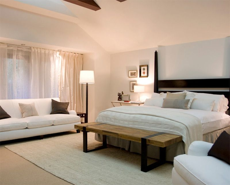 Master Bedroom Interior White Design