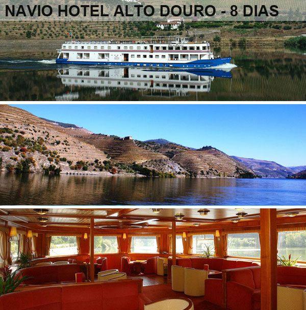 Summer cruise - 8 Days - from 750 Euros @ CRUZEIROS DOURO - Douro River Cruise