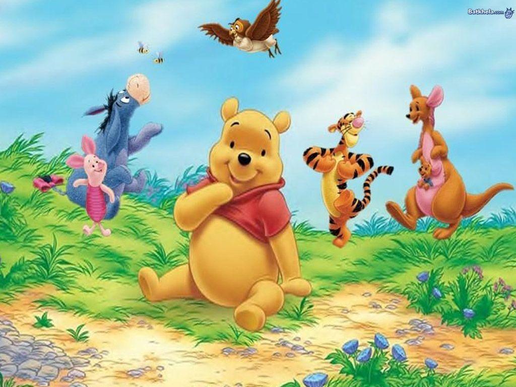 95 Winnie The Pooh Computer Wallpaper
