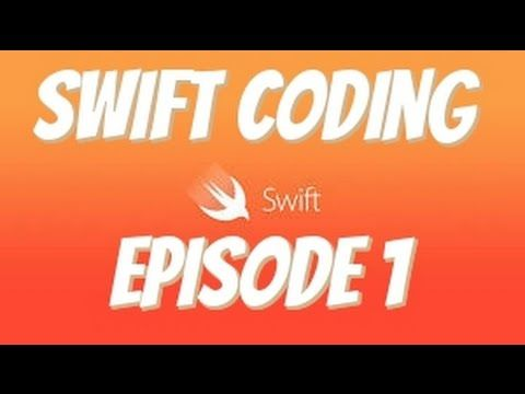 Coding For Beginners With Swift Playgrounds Episode 1 Youtube Coding For Beginners Learn Computer Coding Coding