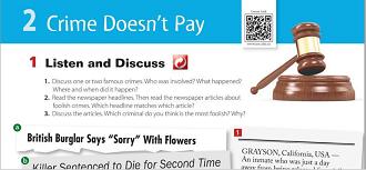 الإنجليزي ثاني ثانوي نظام المقررات الفصل الدراسي الأول Saying Sorry Sayings Crime