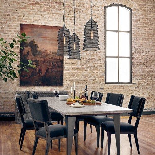 From Left to Right: Abbott Jax Dining Chair, Theory ...